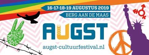 16 t/m 19 augustus 2019: Augst Cultuurfestival Berg aan de Maas