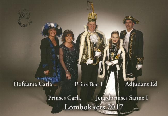 Ben Reintjens nuujste prins van de Lombokkers!