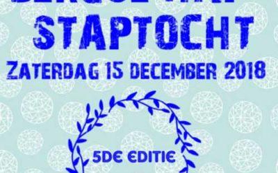 Zaterdag 15 december 2018: Hap- en Stap tocht en Winterfair Berg aan de Maas