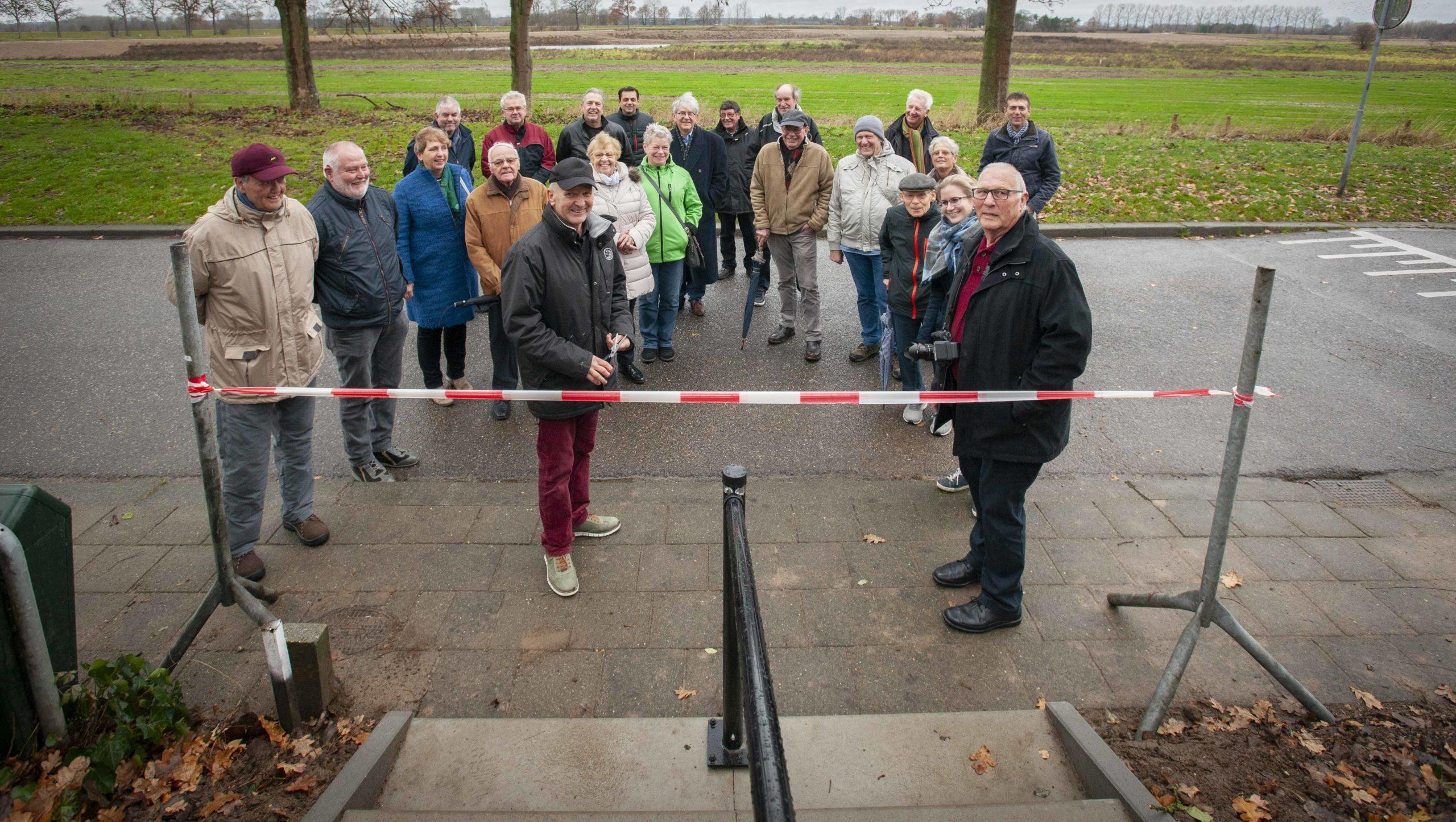 Vernieuwde trap tussen veerweg en Koningsberg officieel geopend!