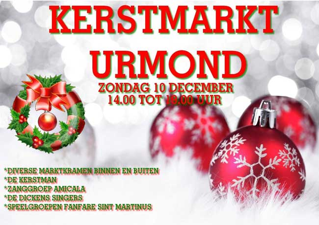 10 december 2017: Kerstmarkt Urmond