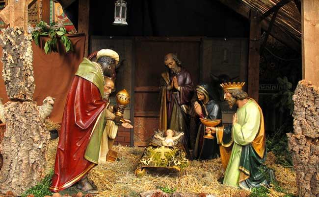 24 december 2017: Na de Avondmis borreltje op het Beatrixplein